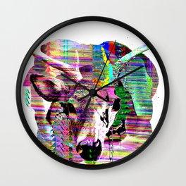 Half n Half Wall Clock
