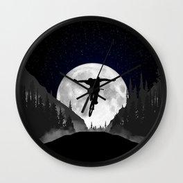 MTB Moon Trick Wall Clock