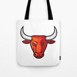 bull head design Tote Bag