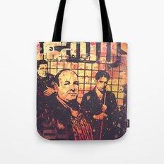 The Sopranos (in memory of James Gandolfini) Tote Bag
