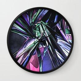 Abstract Pop Art Structure Wall Clock