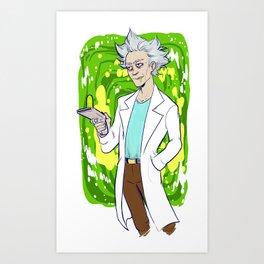 Do it for grandpa Art Print