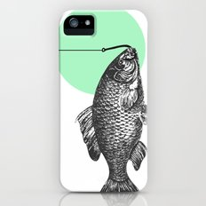 mint bubble Slim Case iPhone (5, 5s)