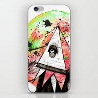 sandman iPhone & iPod Skins featuring Sandman by Logan David