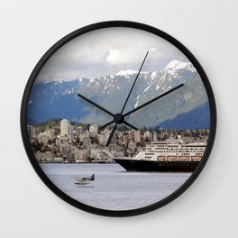 Vancouver Harbour - Canada Wall Clock