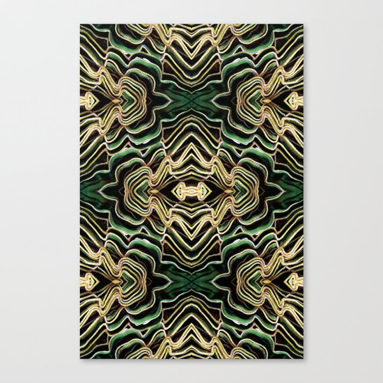 WAVY PALM Canvas Print