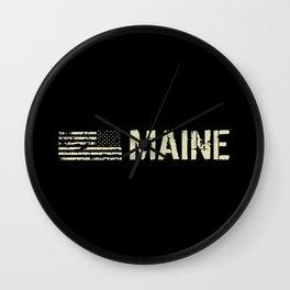 Black Flag: Maine Wall Clock