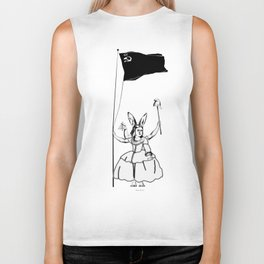 """Duchess Marguerite was a well known character; usually called """"La Petite Rouge"""". Biker Tank"""