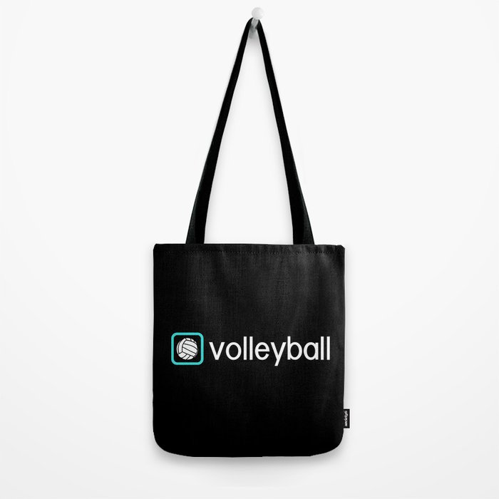 Volleyball (Blue) Tote Bag