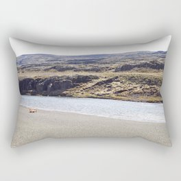 In the middle of nowhere, Iceland Rectangular Pillow