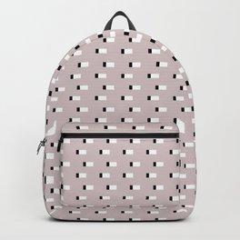 Minimal Squares - Neutral Latte Backpack