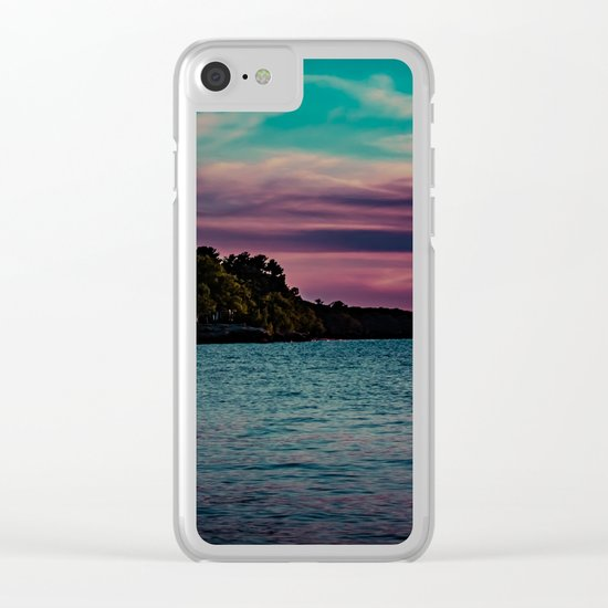 Port Austin Clear iPhone Case