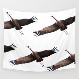 Cranes in flight #decor #society6 Wall Tapestry
