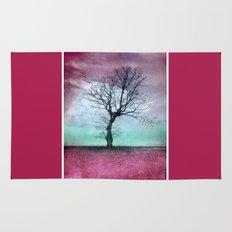 ATMOSPHERIC TREE - Winter Sun Rug