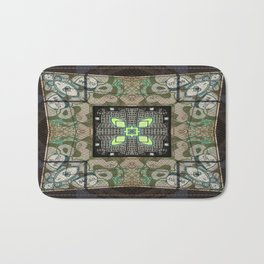 Street art kaleidoscope 2 Bath Mat