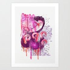 Mystery Art Print
