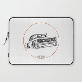 Crazy Car Art 0120 Laptop Sleeve