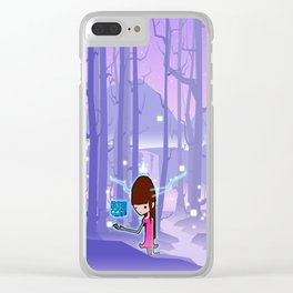 The Cube Queen Clear iPhone Case