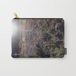Unknown man graveyard Carry-All Pouch