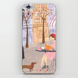 Springtime in Paris iPhone Skin