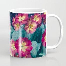 Pretty Little Red & Yellow Flowers Coffee Mug