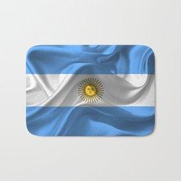 Argentina Flag #2 Bath Mat
