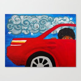 Passing Dreams Canvas Print