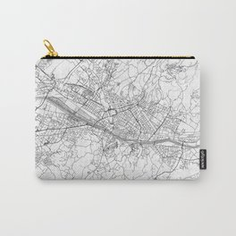 Florence Map Line Carry-All Pouch