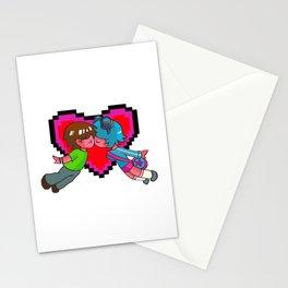 Scott Pilgrim + Ramona Flowers 8-bit Heart Stationery Cards