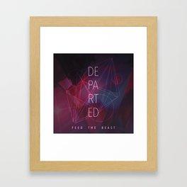 Departed Framed Art Print