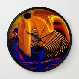 Fire Crescendo Chromatique Wall Clock