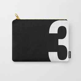 Lucky number: 3 Carry-All Pouch