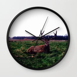 Oh Deer Wall Clock
