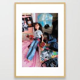 My So-Called Diet: Thinspiration, 1994 Framed Art Print