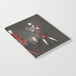 Thriller before Christmas Notebook