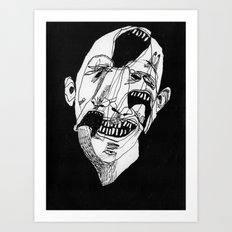 Face 11. 2015.  Art Print