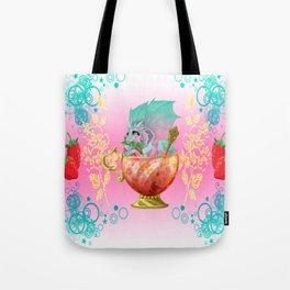 Strawberry Iced Tea Dragon Tote Bag