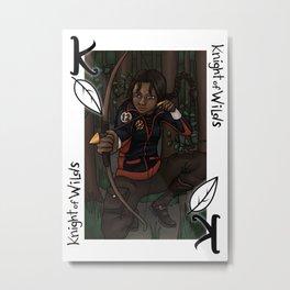 Knight of Wilds Metal Print