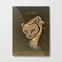 Fragile and Strong Nature 2 Metal Print