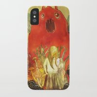 nightmare iPhone & iPod Cases featuring nightmare by Oscar Civit