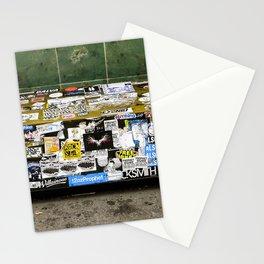 Bench in Nolita NYC by Lika Ramati Stationery Cards