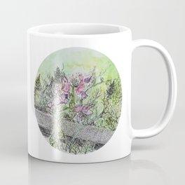 Sidewalk Flowers Coffee Mug