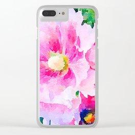 aprilshowers-75 Clear iPhone Case