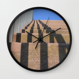 reaching for the sky Wall Clock