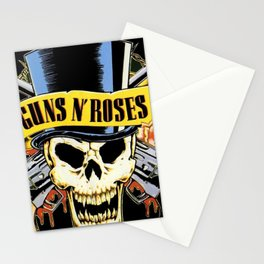 Guns N' Roses tour 2017 ty1 Stationery Cards
