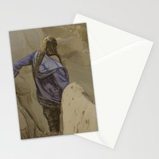 Hiking in the Desert Stationery Cards