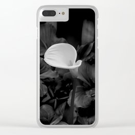 Nature: Arum Lily Clear iPhone Case