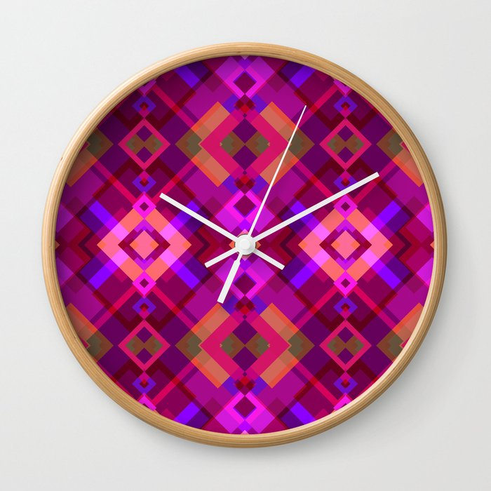 Colorful Spring Wall Clock