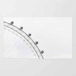 London Eye Monochrome Rug