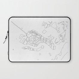 Venezia - City Map - Daniele Drigo Laptop Sleeve